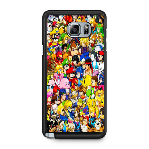 All Game Character Versus Samsung Galaxy Note 5 Case