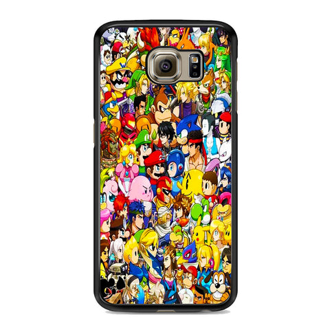 All Game Character Versus Samsung Galaxy S6 | S6 Edge | S6 Edge Plus Case