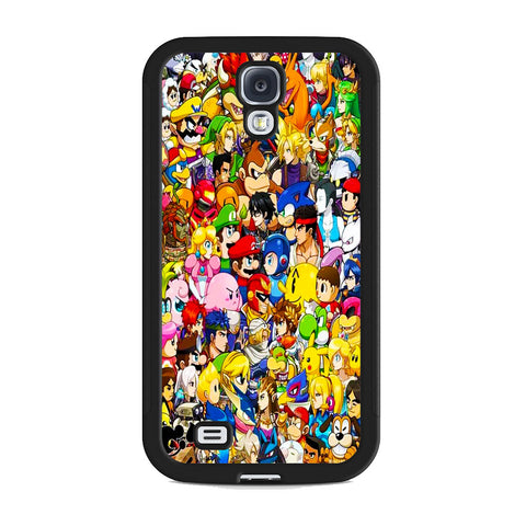 All Game Character Versus Samsung Galaxy S4 Case