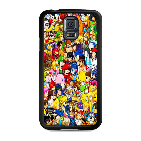 All Game Character Versus Samsung Galaxy S5 Case