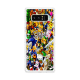 All Game Characters Brawl Samsung Galaxy Note 8 Case