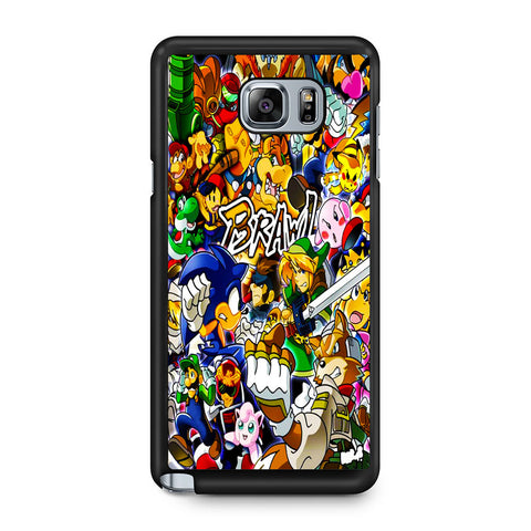 All Game Characters Brawl Samsung Galaxy Note 5 Case