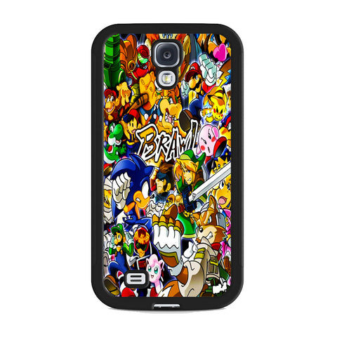 All Game Characters Brawl Samsung Galaxy S4 Case