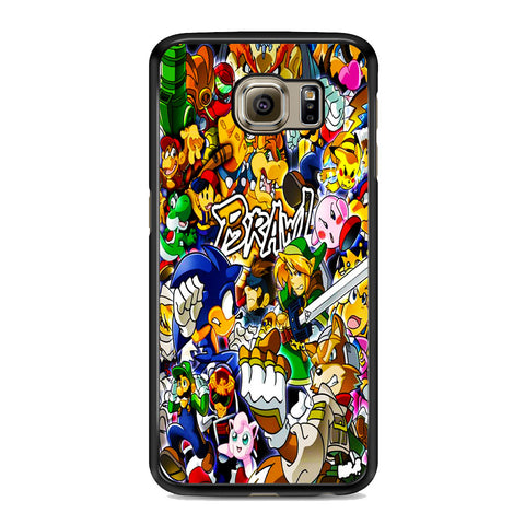 All Game Characters Brawl Samsung Galaxy S6 | S6 Edge | S6 Edge Plus Case