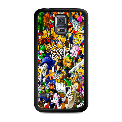 All Game Characters Brawl Samsung Galaxy S5 Case