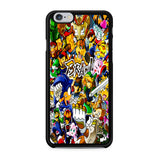 All Game Characters Brawl iPhone X Case