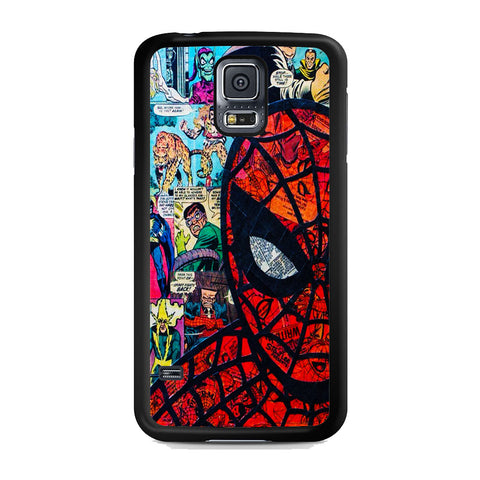 Amazing Spider Man Comic Samsung Galaxy S5 Case