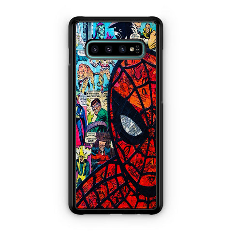 Amazing Spider Man Comic Samsung Galaxy S10 | S10e | S10 Plus | S10 5G Case