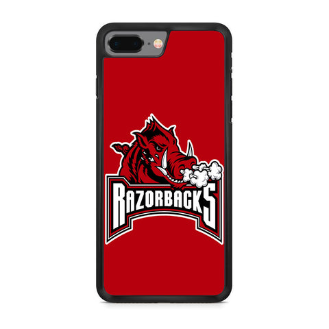 Arkansas Razorbacks Bull Logo iPhone 8 Plus Case