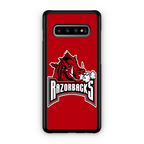 Arkansas Razorbacks Bull Logo Samsung Galaxy S10 | S10e | S10 Plus | S10 5G Case