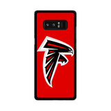 Atlanta Falcons Red Logo Samsung Galaxy Note 8 Case