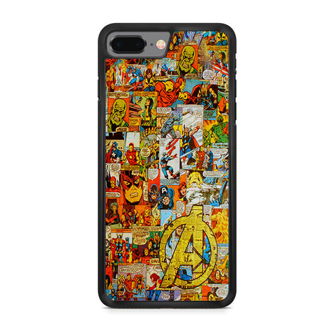 Avengers Comic iPhone 8 Plus Case