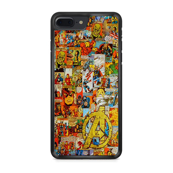 Avengers Comic iPhone 7 Plus Case