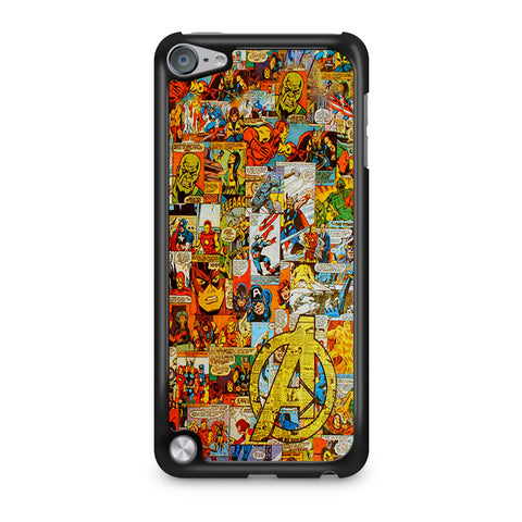 Avengers Comic iPod Touch 5 Case