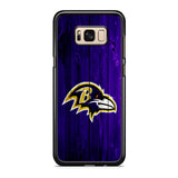 Baltimore Ravens Wood Logo Samsung Galaxy S8 | S8 Plus Case