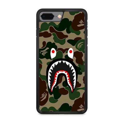 Bape Jungle Camo iPhone 8 Plus Case