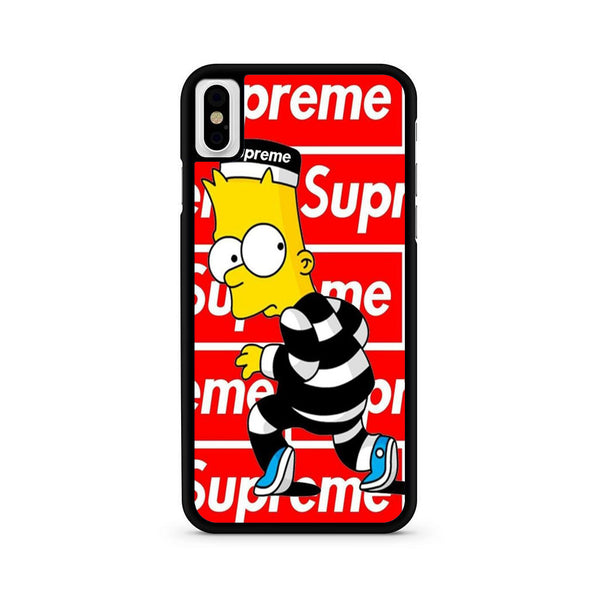Bart Simpson Supreme iPhone X | XR | XS | XS Max Case