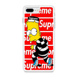 Bart Simpson Supreme iPhone 8 Plus Case
