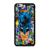 Batman Pop Head Comic iPhone X Case