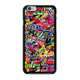 Boom All Sticker iPhone X Case