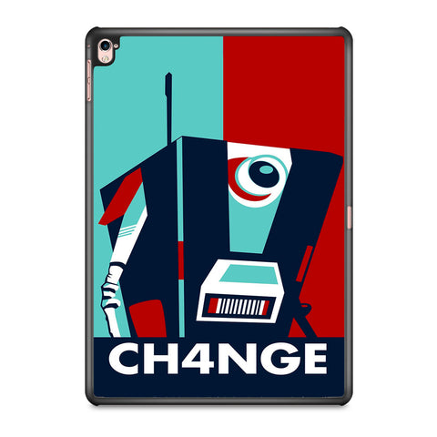 Claptrap Borderlands Vector iPad Pro 9.7 Inch Case