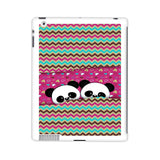 Cute Twin Panda Pink iPad 2 | 3 | 4 Case