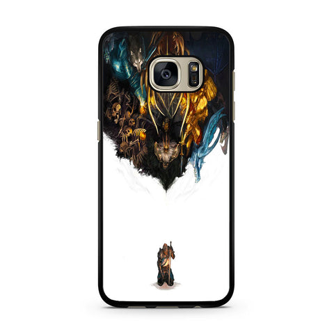 Dark Souls All Boss Curse Samsung Galaxy S7 | S7 Edge Case