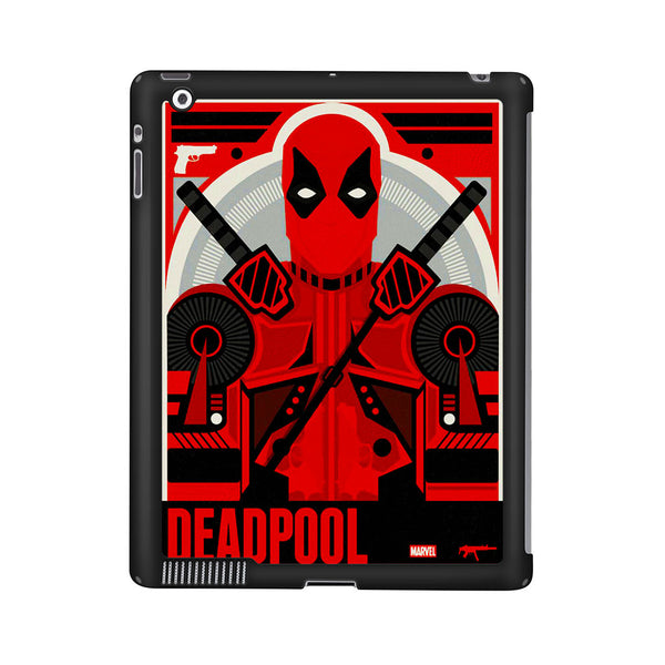 Deadpool Art Poster iPad 2 | 3 | 4 Case