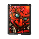 Demon Monster Red Scale Fish iPad 2 | 3 | 4 Case