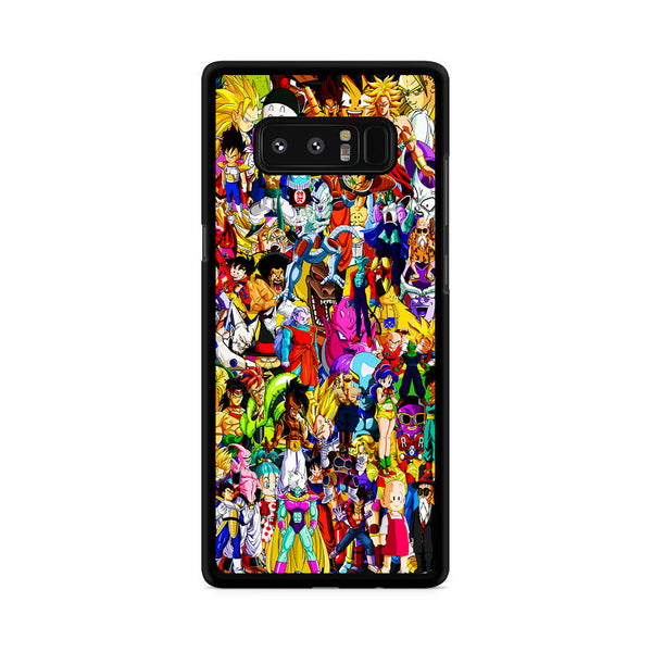 Dragon Ball All Character Collage Samsung Galaxy Note 8 Case