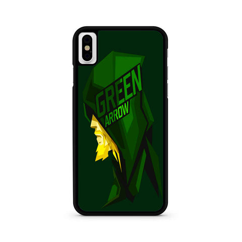 Green Arrow Pop Head iPhone X | XR | XS | XS Max Case