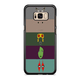 Guardians of The Galaxy Face Vector Samsung Galaxy S8 | S8 Plus Case