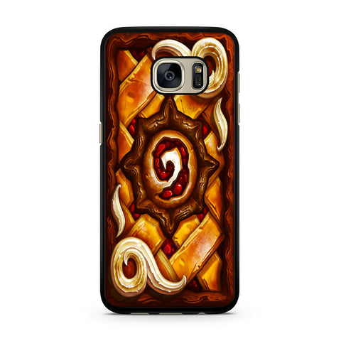 Hearthstone Pie Cover Samsung Galaxy S7 | S7 Edge Case