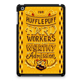 Hufflepuff Hard Workers Poster iPad Mini 4 Case