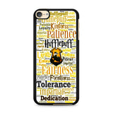 Hufflepuff Quote Logo iPod Touch 6 Case