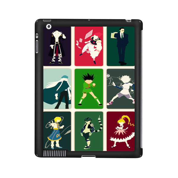 Hunter X Hunter Characters Vector iPad 2 | 3 | 4 Case