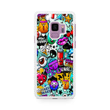 Icons Graffiti Samsung Galaxy S9 | S9 Plus Case