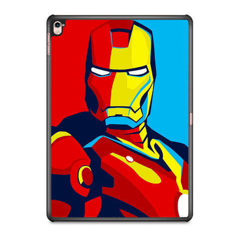Iron Man Marvel Superhero Vector iPad Pro 9.7 Inch Case