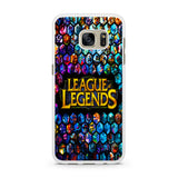 League of Legends Logo Heroes Samsung Galaxy S7 | S7 Edge Case