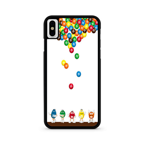 M&M's Candies Fall iPhone X | XR | XS | XS Max Case