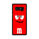 M&M's Red Samsung Galaxy Note 8 Case