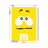 M&M's Yellow iPad 2 | 3 | 4 Case