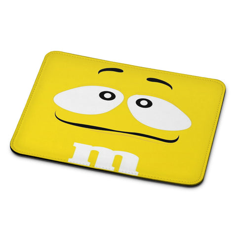 M&M's Yellow Mouse Pad