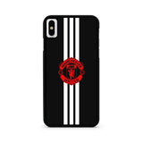 Manchester United Stripe Logo iPhone X | XR | XS | XS Max Case