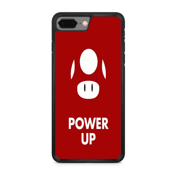 Mario Bros Red Mushroom Power Up iPhone 8 Plus Case