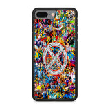 Marvel X-Men All Hero Collage iPhone 8 Plus Case