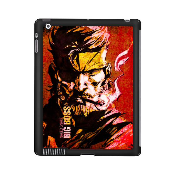 Metal Gear Solid Naked Snake Big Boss iPad 2 | 3 | 4 Case