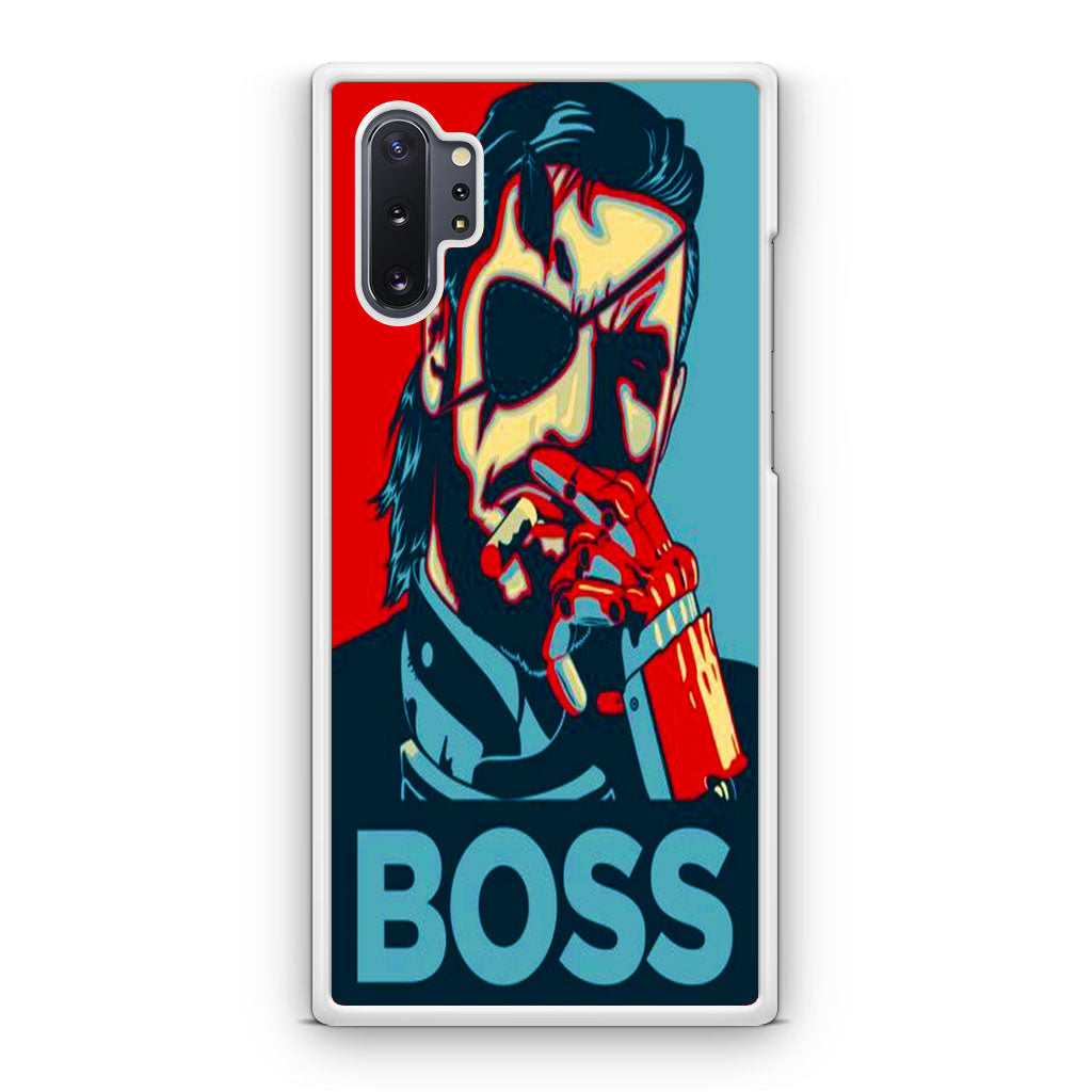 Metal Gear Solid V Boss Paint Samsung Galaxy Note 10 Note 10 Plus Case