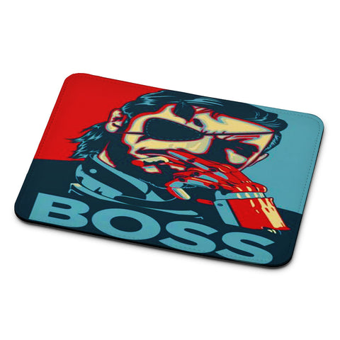 Metal Gear Solid V Boss Paint Mouse Pad