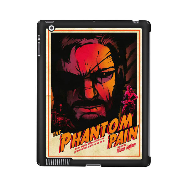 Metal Gear Solid V The Phantom Pain Poster iPad 2 | 3 | 4 Case